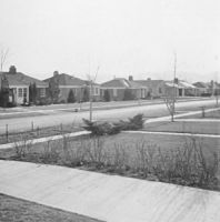 04 View southwest from 1817 Logan Avenue, June 1954